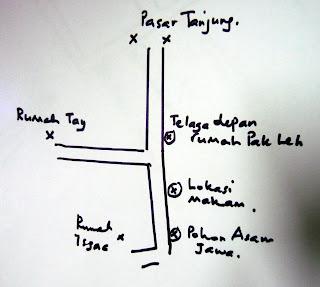 Map of Kolam