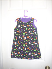 A Line dress reversible side 2