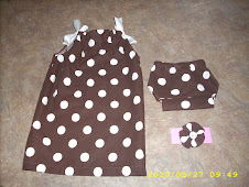 Polka Dot Pillowcase Dress (0-3 months)