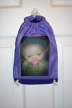 Drawstring Backpack with Picture