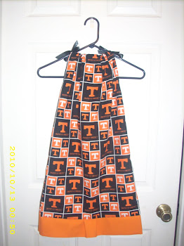 Tennessee Vols Pillowcase dress