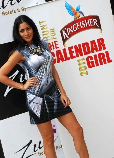 Kingfisher Calendar Design : October indian actress photos