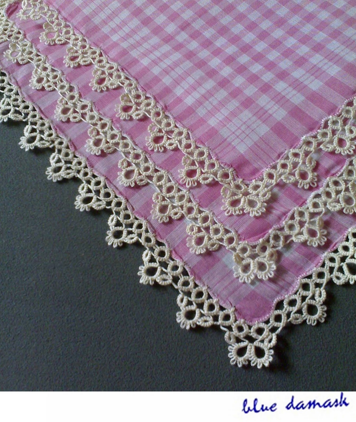 pink gingham wallpaper