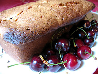 "... World in My Kitchen: Cherry and White Chocolate ""Perfect Pound Cake"