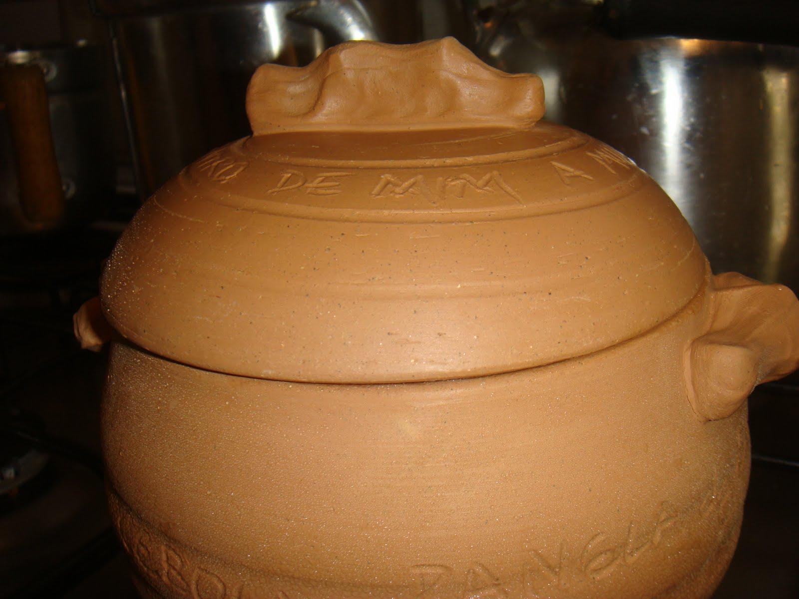 come-se: <b>Panela</b> de <b>barro</b> - curando e cozinhando 2014