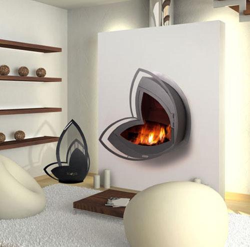 Estufas a le a modernas 1 - Estufas sin chimenea ...