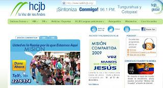 Ecuador: Fin de HCJB en la onda corta