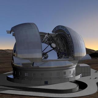¿Qué hacemos cuando no estamos en el wow? - Página 2 Telescopio+gigante+espa%C3%B1a+chile+competencia+astronomia+chilenos+atacama+desierto+ciencia