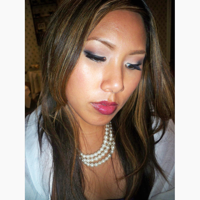 Wedding Guest Makeup Looks : Fleurs blog: Three tier white wedding cake with scroll ...