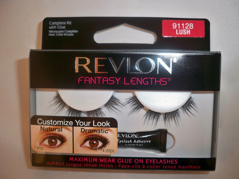 z.Revlon Fantasy Lengths Glue-On Lashes LUSH