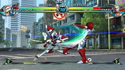 Tatsunoko vs Capcom All Ultimate Stars10 Nuevas imagenes y logo Americano de Tatsunoko vs Capcom Uiltmate Stars