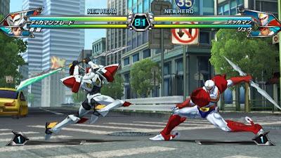 Tatsunoko vs Capcom All Ultimate Stars11 Nuevas imagenes y logo Americano de Tatsunoko vs Capcom Uiltmate Stars