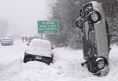 美國暴風雪