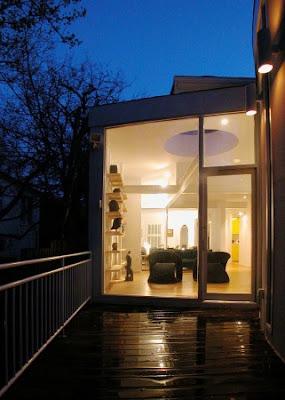 modern house decorating exterior terrace