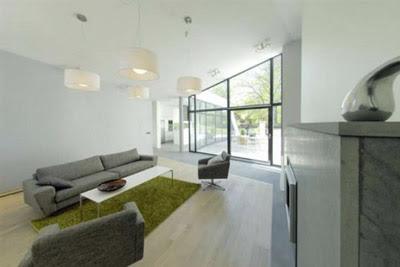 New Home Interior Design Hillside Modern House Design in Sweden