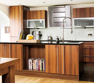Walnut Kitchen Design Home Interior