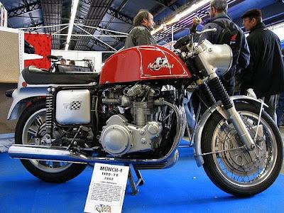 Münch-4 1100 TT Mammut, classic motorcycle, mammut