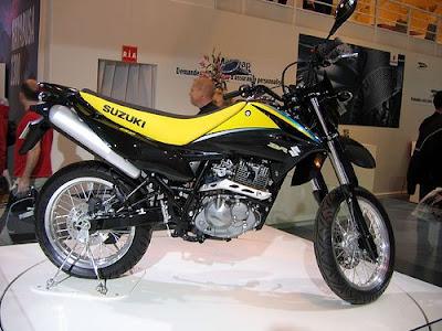 Suzuki DR 125, supermoto, Suzuki, motorcycle