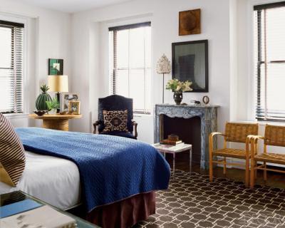 Nate Berkus's bedroom design, bedroom, interior design, home interior