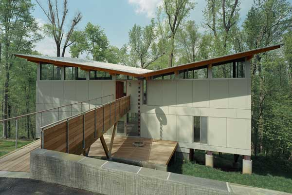 Modern Tree House, recident house design, modern house design, interior design