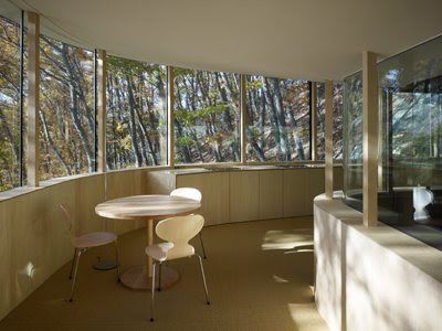 Glass Home Hangs, Japanese House Design, exterior house design, interior design
