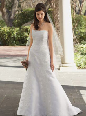 Watters Bride wedding dresses, strapless dress, wedding gown