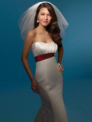 Alfred Angelo wedding dresses, strapless dress