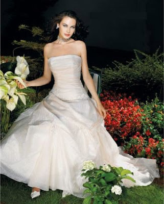 private label wedding dresses, strapless dress