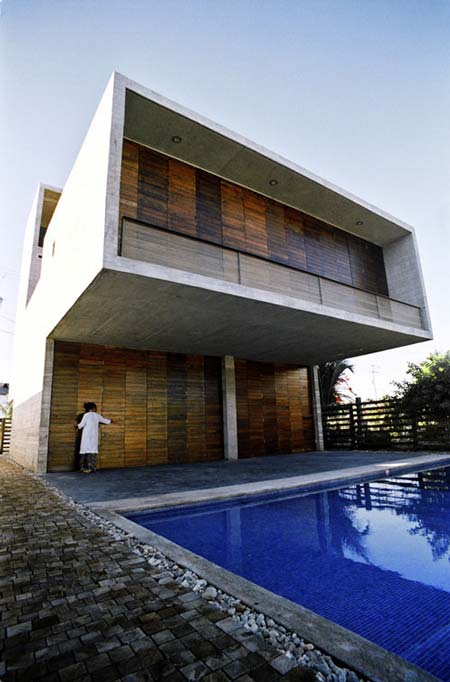 Beach house, interior design, modern house design
