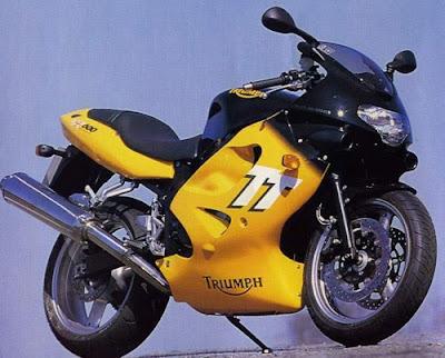 Triumph TT600, triumph, Sportbike