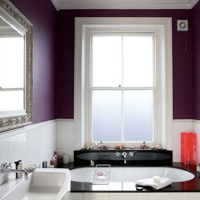 Modern bathroom furnishings