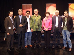 Posing After Astro Awani Program
