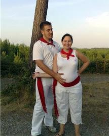 Nico et moi (enceinte)