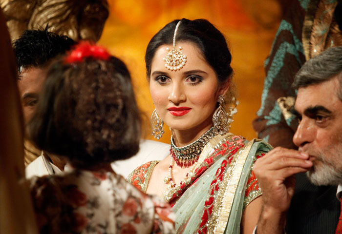 Sania mirza marriage (wedding)