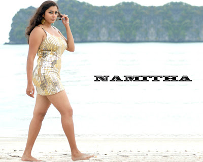 Namitha hot wallpapers from telugu movie Billa