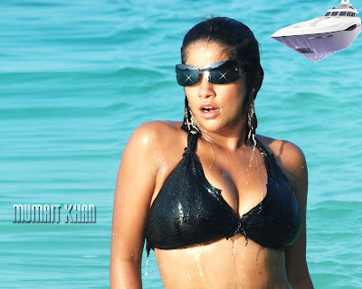 Item actress Mumaith khan bikini wallpapers