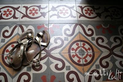 Maroko, sandały