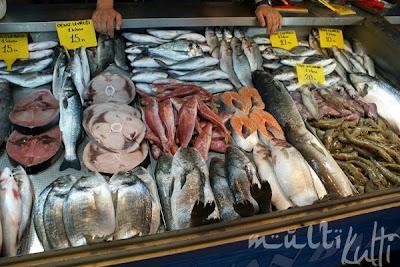 Turcja targ rybny