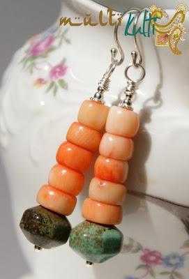 kolczyki z korala
