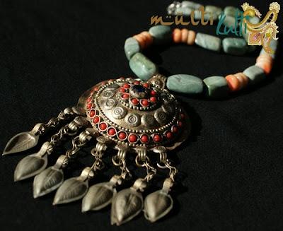 etniczny wisior beduinki