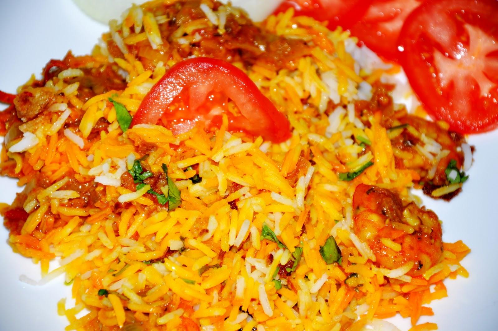 Sasha's Cookbook: Shrimp Biryani / Royyala biryani