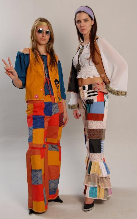 Anna ana helena fantasias nossa loja - Hippies anos 70 ...