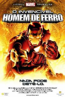 Filme Poster O Invencível Homem De Ferro DVDRip XviD Dublado