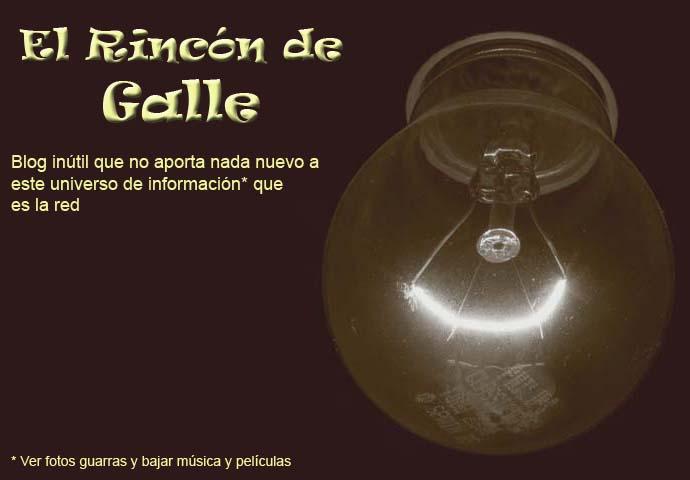 El rincón de Galle