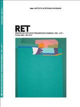 Editor jefe de la Revista de Estudios Transdisciplinarios (RET) - (IDEA) Vol. 2 N° 1