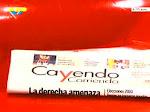 """""""Cayendo y Corriendo"""" por Venezolana de Televisión (VTV)"""