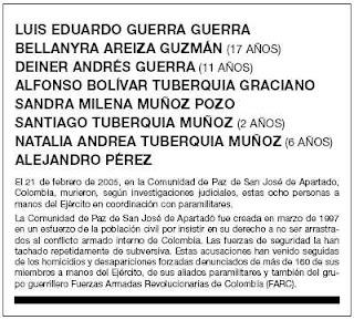 Obituario del 21 de febrero de 2008. c. El País.