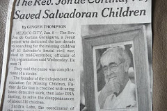 from Obit of Jon de Cortina