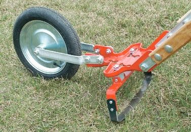 The Glaser Company Does Not Offer Sweep Cultivators on Their Planet-Jr.-Inspired Wheel Hoe