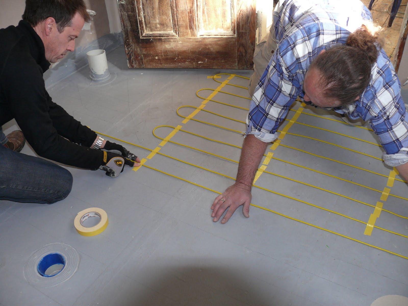 warmtech underfloor heating instructions